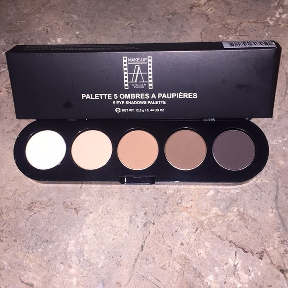 Makeup Atelier Other - Makeup Atelier Eyeshadow Palette—Natural Chestnut